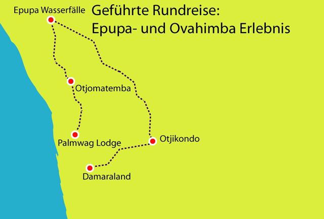 Epupa- und Ovahimba Erlebnis Namibia